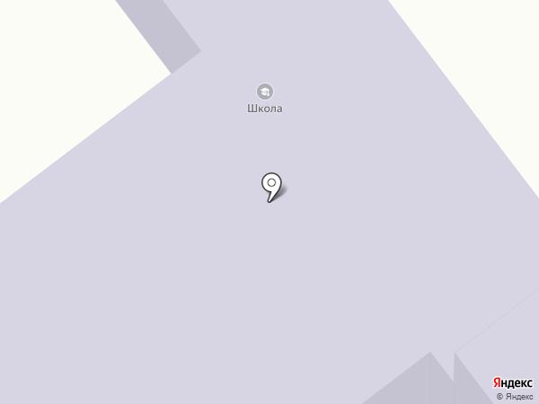 Средняя общеобразовательная школа на карте Борового