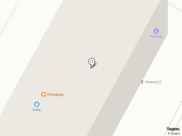 Чубчик на карте Усть-Каменогорска