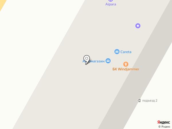 Зиновъевка на карте Усть-Каменогорска