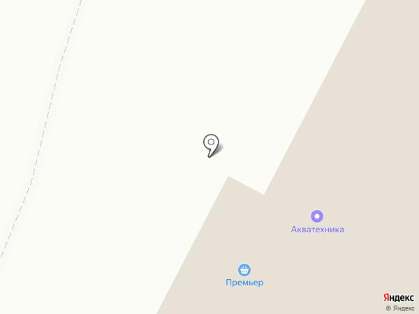 Премьер на карте Усть-Каменогорска