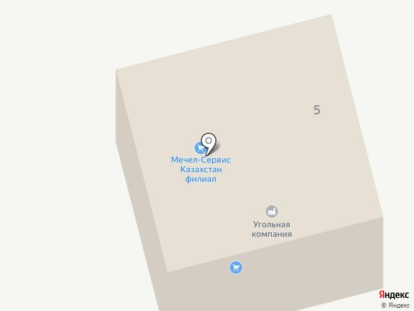 Шығыс Строй Блок на карте Усть-Каменогорска