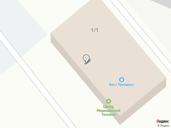 ВЕСТ ТРЕЙДИНГ, ТОО на карте Усть-Каменогорска