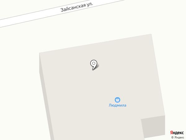Магазин по продаже фруктов и овощей на карте Усть-Каменогорска