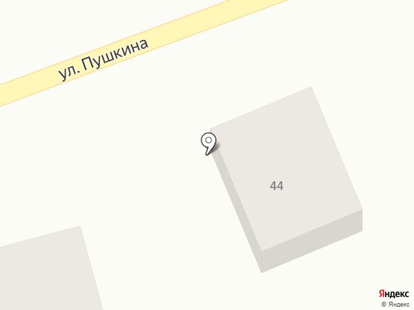 Казахстанский гранит на карте Усть-Каменогорска