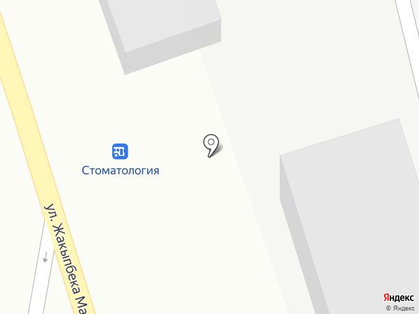 Ермак на карте Усть-Каменогорска