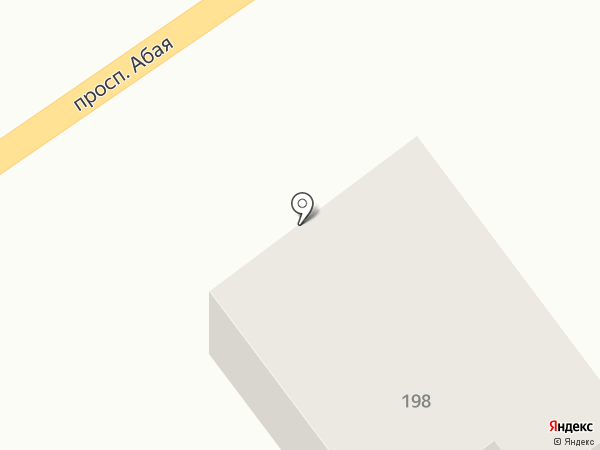 Магистраль на карте Усть-Каменогорска