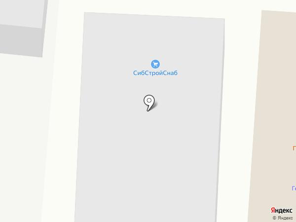 СибСтройСнаб на карте Оби