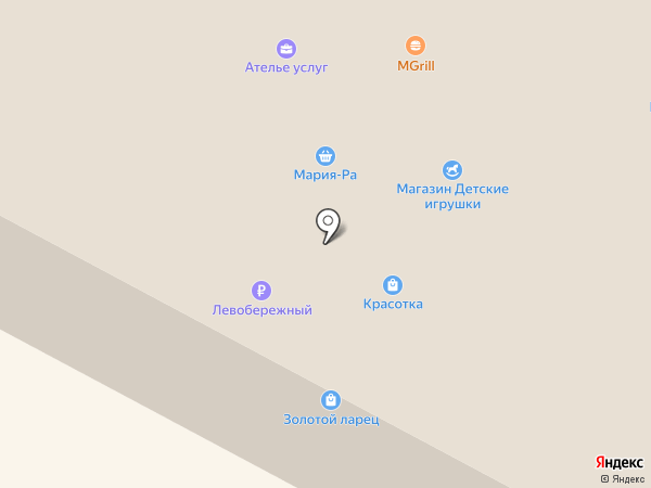 Золотой ларец на карте Оби
