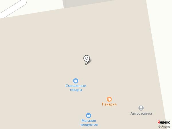 Октябрьская на карте Оби