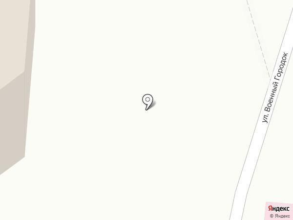 Киоск фастфудной продукции на карте Оби