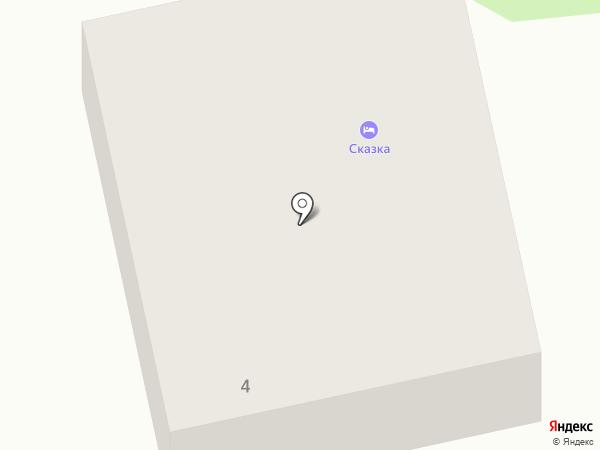 Сказка на карте Оби