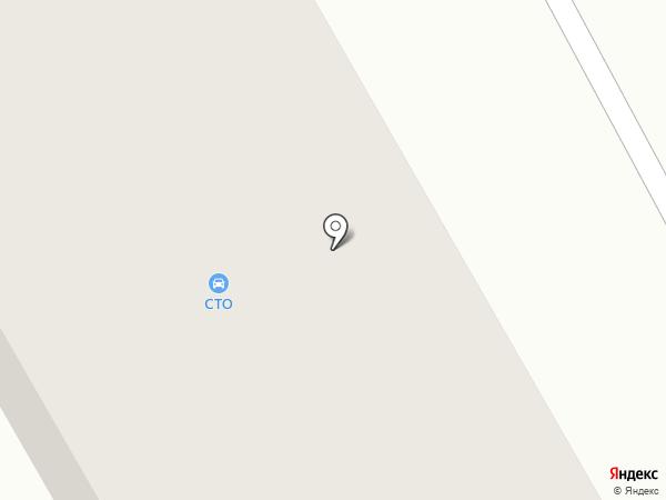 СТО на карте Оби