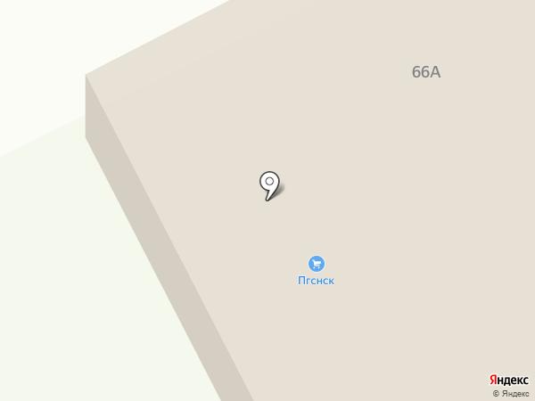 ПГСНСК на карте Оби