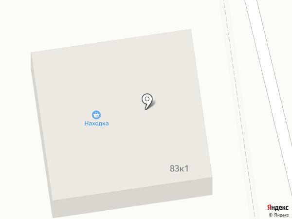 Находка на карте Оби