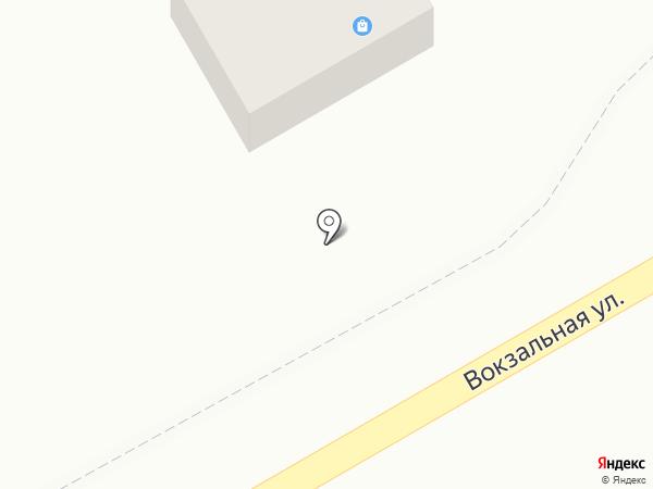 Бутичок на Вокзальной на карте Оби