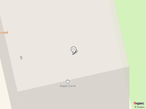 Аэро-Сити на карте Оби