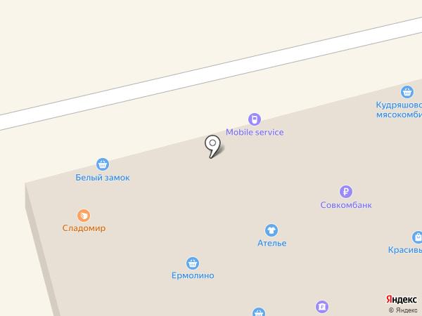 Красивый дом на карте Оби