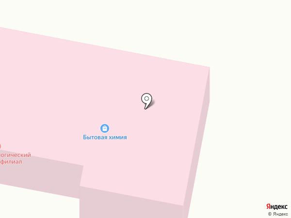 Обской психоневрологический интернат на карте Оби