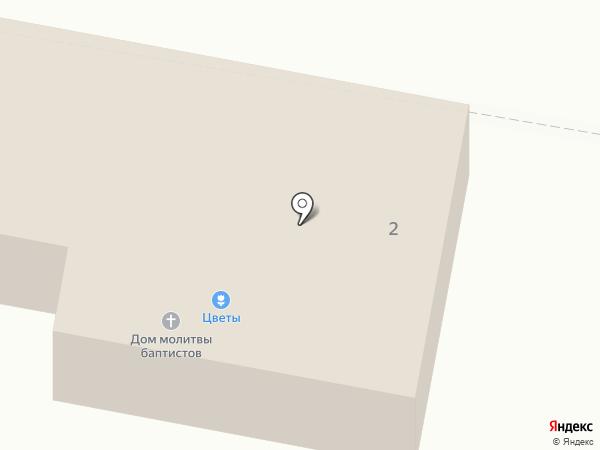 Церковь Евангельских христиан-баптистов на карте Оби