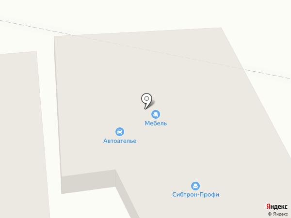 Сибтрон-Мастер на карте Оби