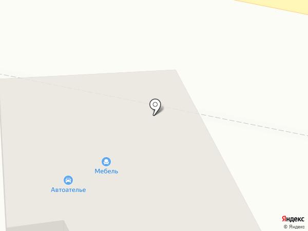 Сибтрон на карте Оби