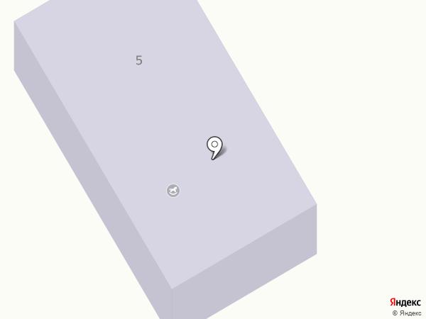 Детский сад №107 на карте Оби