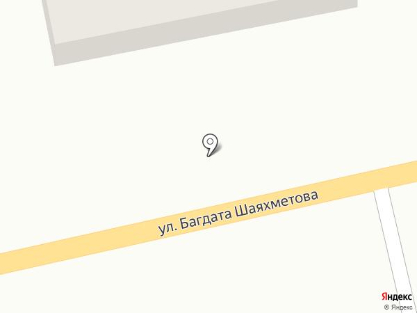 Эмир на карте Усть-Каменогорска