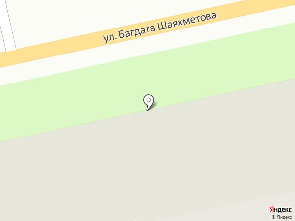Почтовое отделение №17 на карте Усть-Каменогорска