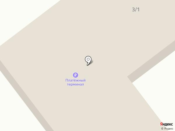 Приобский на карте Приобского