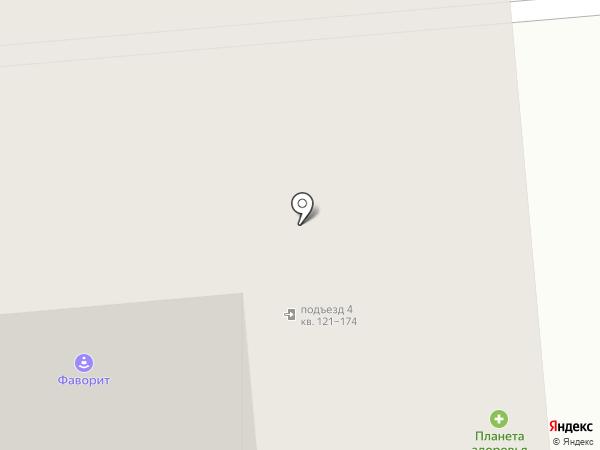 Ёрш на карте Новосибирска