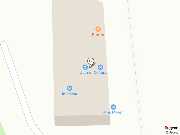Автомагазин на карте Новосибирска