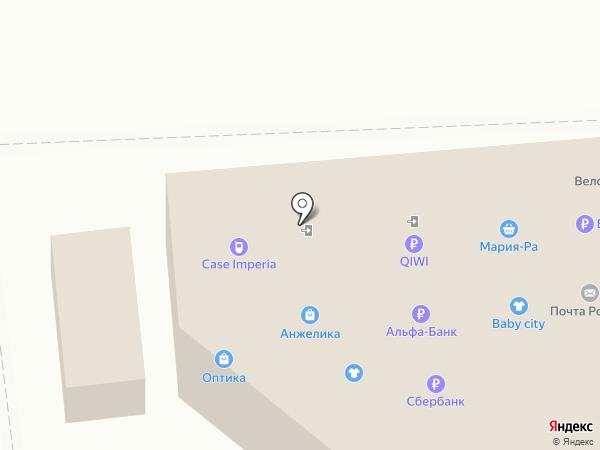 Магазин детской одежды на карте Новосибирска