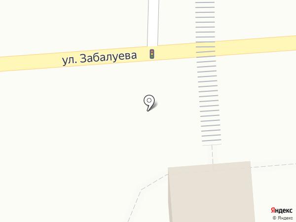 Шокобум на карте Новосибирска