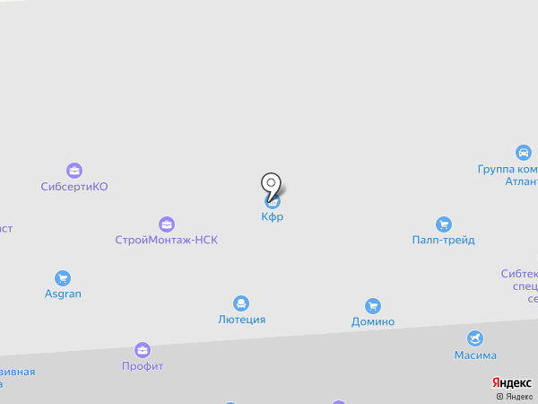 Биохим на карте Новосибирска
