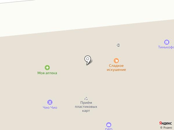 Магазин горячего хлеба из тандыра на карте Новосибирска