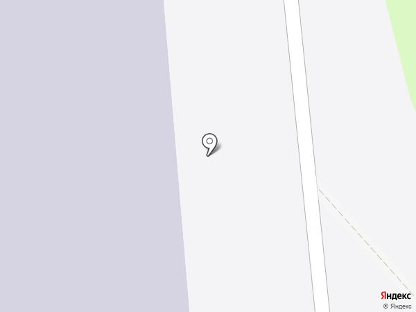 Звёздный на карте Новосибирска