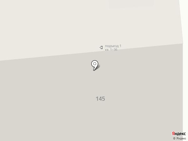 Анна-Мария на карте Новосибирска