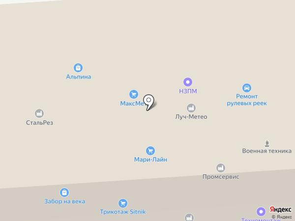 Кузар-Групп на карте Новосибирска