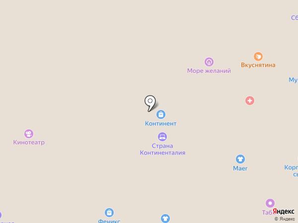Малыш на карте Новосибирска