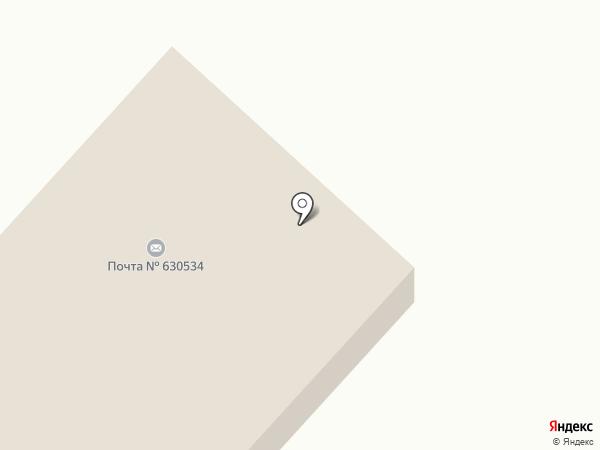 Участковый пункт полиции на карте Мочища