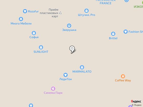 ZEWANA на карте Новосибирска