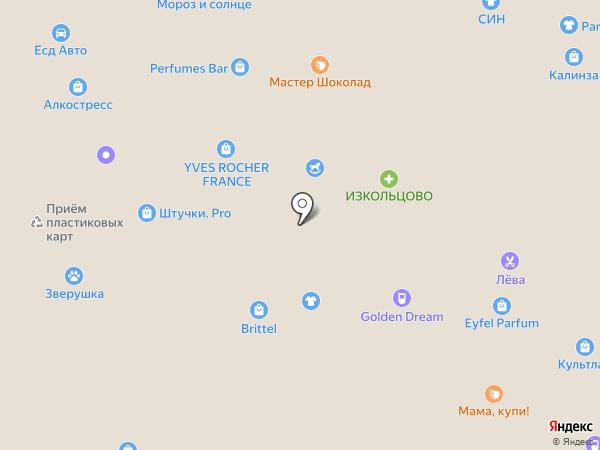 Агаста на карте Новосибирска