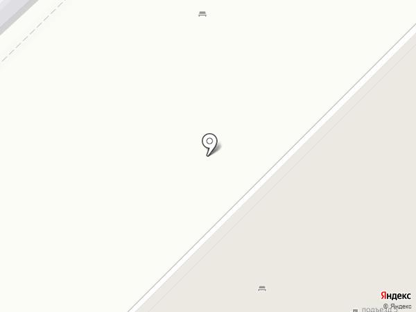 Финт на карте Новосибирска