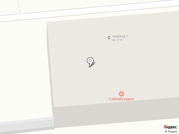 Вечная Память на карте Новосибирска
