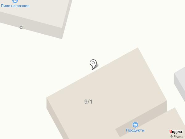 Гарант на карте Ленинского