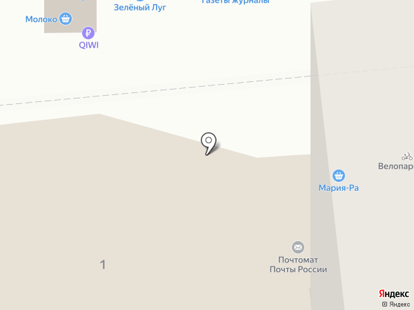 Авалон на карте Новосибирска