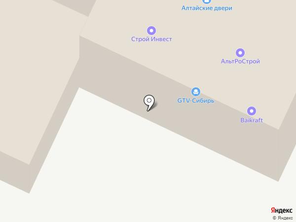 Autotrend на карте Новосибирска