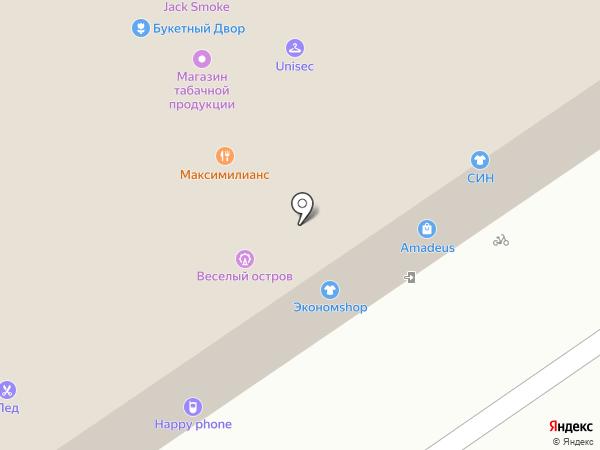 Эльбор на карте Новосибирска