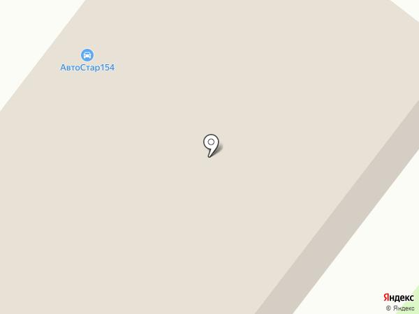Домовой на карте Новосибирска