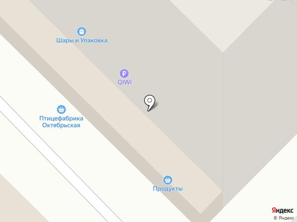 Магазин кондитерских товаров на карте Новосибирска